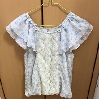 オリーブデオリーブ(OLIVEdesOLIVE)の花柄トップス(Tシャツ(半袖/袖なし))
