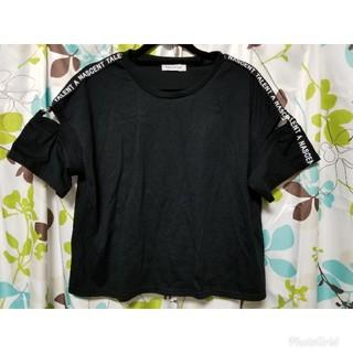 ウィゴー(WEGO)のWEGO 黒Tシャツ(Tシャツ(半袖/袖なし))