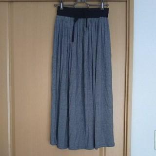 ジーユー(GU)のgu☆スウェット地スカート(ロングスカート)