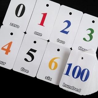 フラッシュカード numbers(知育玩具)