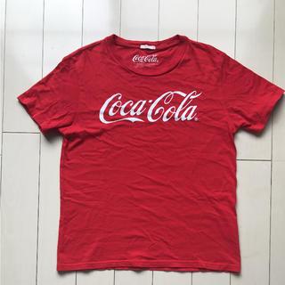ジーユー(GU)のGU☆コカコーラTシャツ(Tシャツ/カットソー(半袖/袖なし))