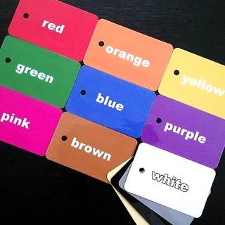 フラッシュカード colors(知育玩具)