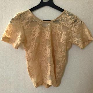 アメリカンアパレル(American Apparel)のアメアパ 総レースT(Tシャツ(半袖/袖なし))