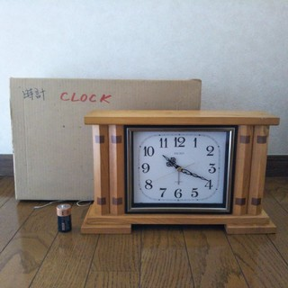 セイコー(SEIKO)のセイコー クオーツ 置き時計(置時計)