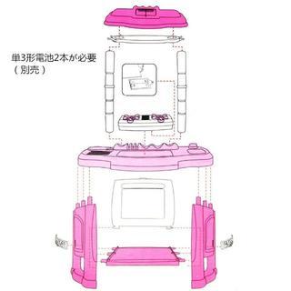 FlyCreat ままごと遊び キッチン32点セット(知育玩具)
