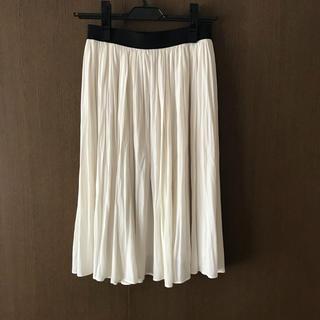 エリオポール(heliopole)のエリオポール とろみ素材スカート(ひざ丈スカート)