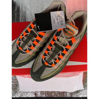 ナイキ(NIKE)のryuuusei様専用 airmax95 orange 27.5 新品未使用(スニーカー)