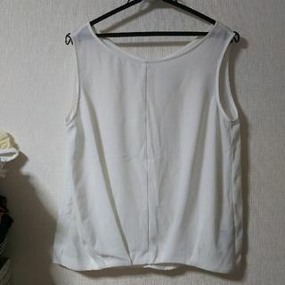 ジーユー(GU)のGU フロントタックブラウス(シャツ/ブラウス(半袖/袖なし))
