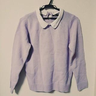 ウィゴー(WEGO)の衿付き セーター(ニット/セーター)