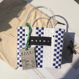 マルニ(Marni)のマルニ MARNI ホワイト ハンドバッグ  新品 未使用 実用性(ハンドバッグ)