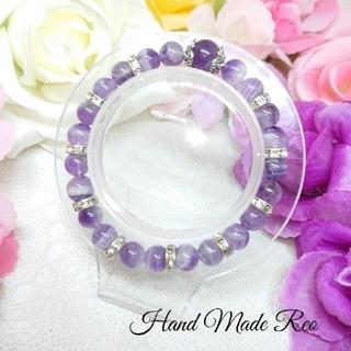 ★Hand Made 天然石ブレスレット H★(ブレスレット/バングル)