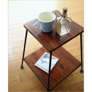 スツール 木製 椅子 いす イス 花台 棚 (クジライ ノブキ専用)(その他)