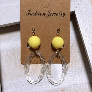 yellowパールピアス(ピアス)