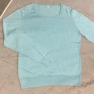 MUJI (無印良品) - 無印良品 MUJI シルク混 クルーネックセーター