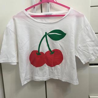 ウィゴー(WEGO)のさくらんぼ Tシャツ wego(Tシャツ(半袖/袖なし))
