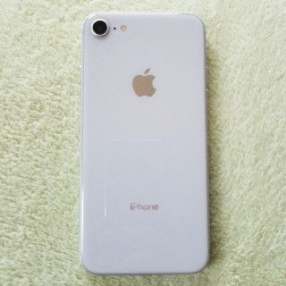アイフォーン(iPhone)のiPhone8 64gb シルバ 残債無し(スマートフォン本体)
