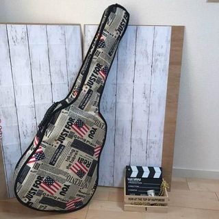 ギターバッグ・ケース・アメリカ星条旗柄(ケース)