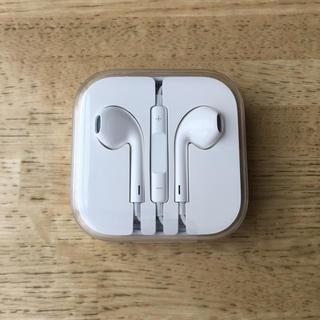 アイフォーン(iPhone)のiPhone イヤホン 純正品(ヘッドフォン/イヤフォン)