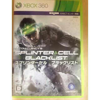 エックスボックス360(Xbox360)のスプリンターセル ブラックリスト(家庭用ゲームソフト)