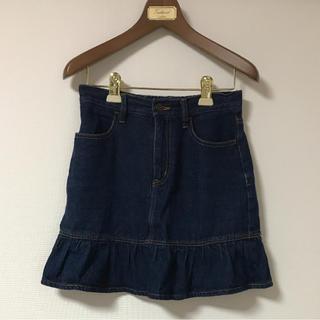 ウィゴー(WEGO)の売り切り8月末まで‼️ モデルmimちゃんも着用❗️WEGO❗️デニムスカート(ミニスカート)