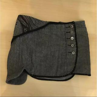イープレイ(E-PLAY)のE-PLay 刺繍デニムミニスカート(ミニスカート)