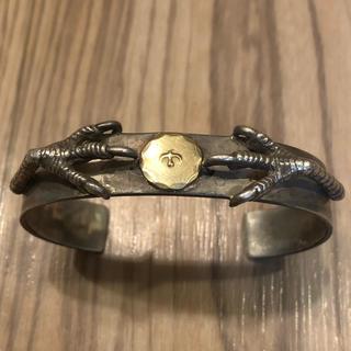 ゴローズ(goro's)のオーダー 自身購入 銀爪金メタル付きブレス ゴローズ(ネックレス)