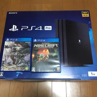 PlayStation4 - PS4 pro CUH-7100B 1TB 付属品完備‼️ソフト2本付き‼️