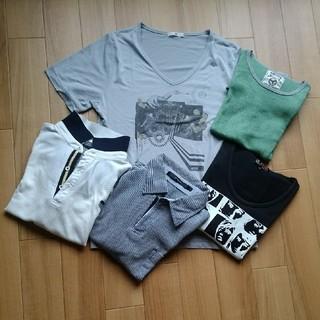 ハレ(HARE)のブランドも入る半袖Tシャツ半袖ポロシャツ5枚セット まとめ売り(その他)
