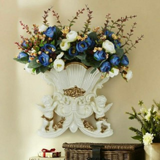 天使の置物 天使の花瓶 置物 宮殿