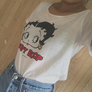 ウィゴー(WEGO)のベティ ブープ Tシャツ(Tシャツ(半袖/袖なし))