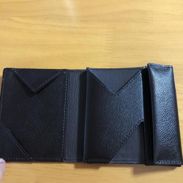 5eebd5dcb780 アブラサス 薄い財布 チョコ メンズのファッション小物(折り財布)の商品写真