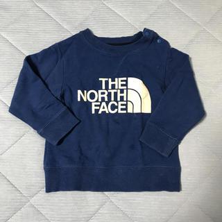 ザノースフェイス(THE NORTH FACE)のTHE NORTH FACE 青 トレーナー 80サイズ(トレーナー)
