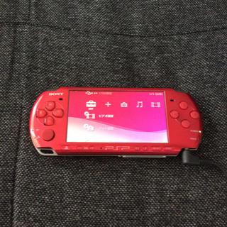 プレイステーションポータブル(PlayStation Portable)のPSP3000 本体(携帯用ゲーム本体)