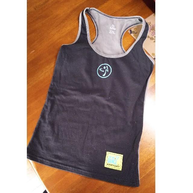 Zumba(ズンバ)の黒とグレーがカッコいいズンバウェアです(^o^) スポーツ/アウトドアのスポーツ/アウトドア その他(ダンス/バレエ)の商品写真