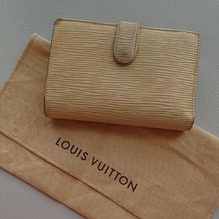 ルイヴィトン(LOUIS VUITTON)のヴィトン エピ 折り財布 がま口 (財布)