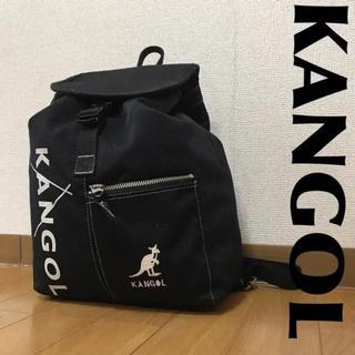 カンゴール(KANGOL)のKANGOL カンゴール リュック デカロゴ ロゴ柄 0815(リュック/バックパック)