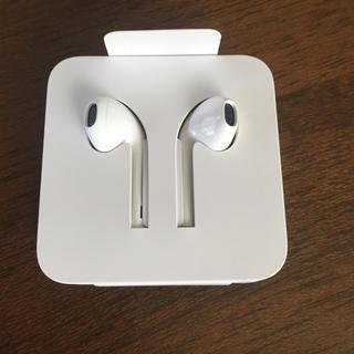 アイフォーン(iPhone)の新品未使用 正規品 iPhone イヤホン 純正 X apple アップル(ヘッドフォン/イヤフォン)