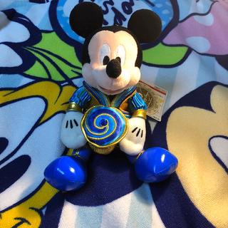 ディズニー(Disney)のオープニングスーン ミッキー ぬいぐるみバッジ(ぬいぐるみ)