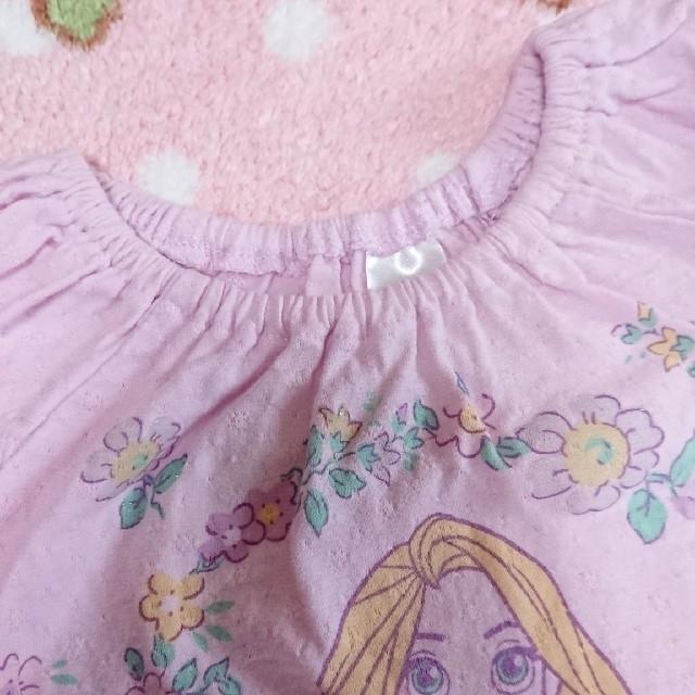 Disney(ディズニー)のラプンツェル 70cm キッズ/ベビー/マタニティのベビー服(~85cm)(タンクトップ/キャミソール)の商品写真