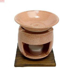 香炉 茶香炉(ピンク) [H10.5cm] HANDMADE プレ