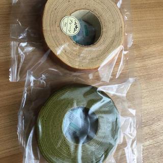 アウトレット 訳あり バームクーヘン 洋 菓子 プレーン 抹茶(菓子/デザート)