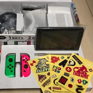 Nintendo Switch - 欠品有り 任天堂スイッチ スプラトゥーン2  同梱版
