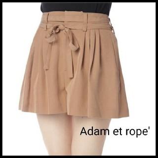 アダムエロぺ(Adam et Rope')のAdam et rope'♡ウエストリボンショートパンツ キュロット(ショートパンツ)