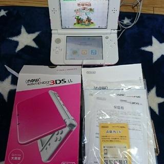 ニンテンドー3DS - 任天堂3DSLL ピンク