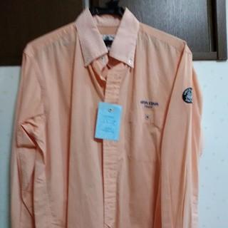 シナコバ長袖シャツ L  オレンジ
