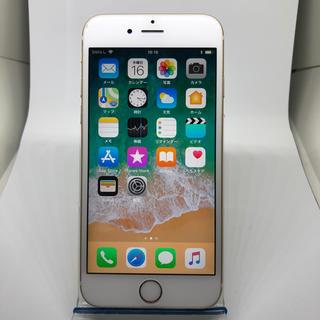 アイフォーン(iPhone)のiphone6s 64gb ゴールド シムフリー 8478(スマートフォン本体)
