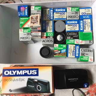 オリンパス(OLYMPUS)のフィルム コンパクトカメラ セット(フィルムカメラ)