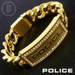 POLICE - 【美品】POLICE ポリス LOWRIGER ブレスレット