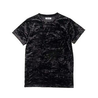 プニュズ(PUNYUS)のPUNYUS☆ベロアTシャツ(Tシャツ(半袖/袖なし))