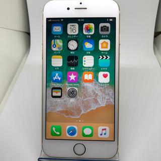 アイフォーン(iPhone)のiphone6s 64gb シムフリー ゴールド 4049(スマートフォン本体)